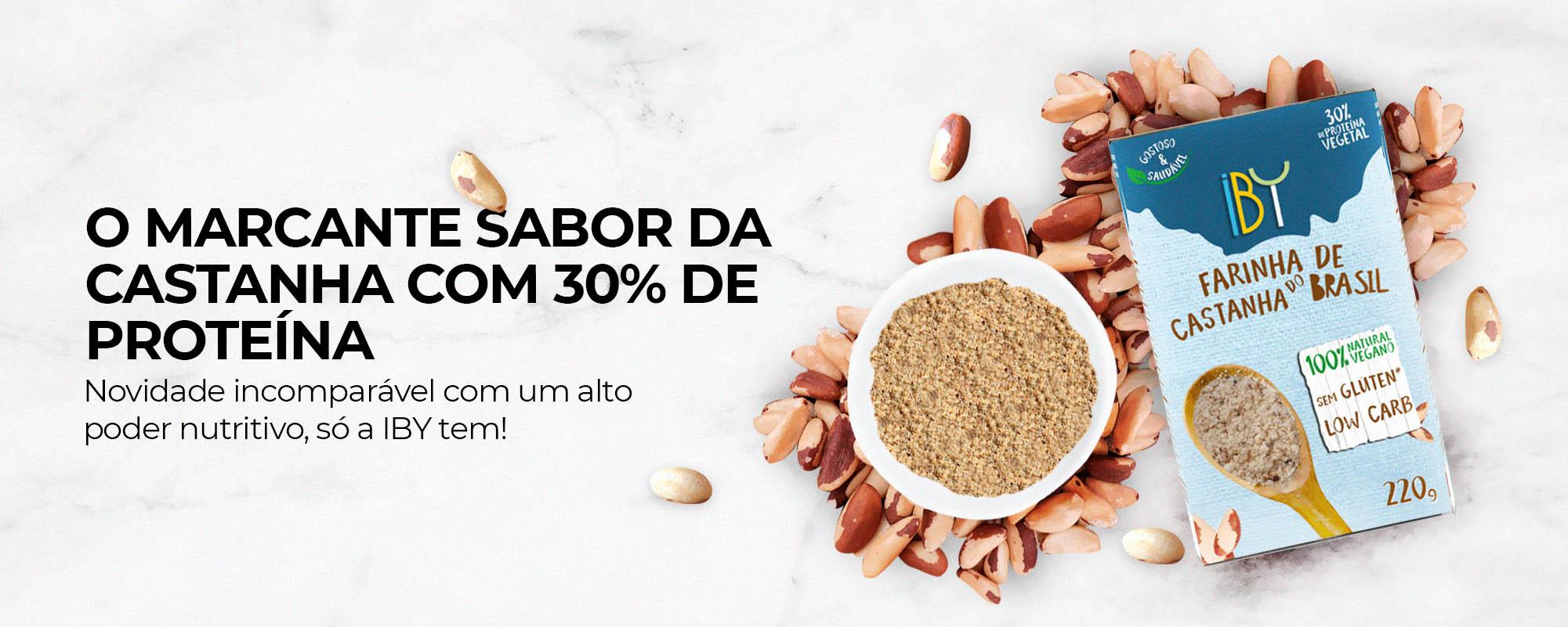 IBY Foods – Bebidas Vegetais – Castanha do Brasil – Castanha do Pará – Leites Vegetais – Natural e livre de soja, glúten, lácteos e aditivos.